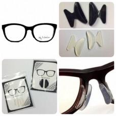 ซิลิโคนติดจมูกแว่นกันแว่นไหล